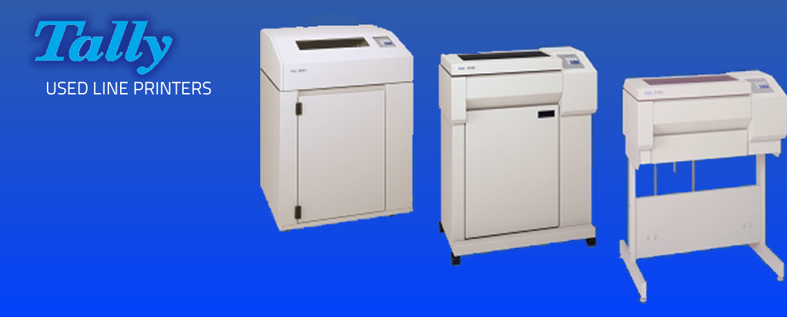 Tally Used Line Printers